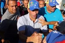"""Capriles: """"Ya basta de lo mismo, es hora de votar por e..."""