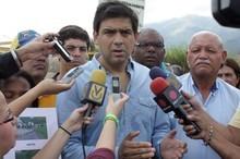 Ocariz anunció la reapertura de la vía Palo Verde-Mariche