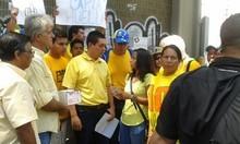 Militantes de Primero Justicia protestaron en Caracas contra...