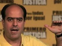 Julio Borges denunciará sanción en su contra sin esperar res...