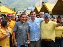 Justicieros de la Unidad recorren mercados de Petare