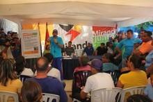 Capriles: Si el pueblo vota con conciencia nosotros arrasamo...