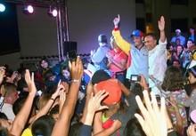Capriles: El esfuerzo ha valido la pena, estamos cerca del c...