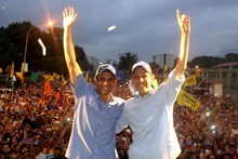 Capriles: Un pueblo que se moviliza y cuida su voluntad, gan...