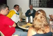Luis Eduardo Manzano inició ciclo de reuniones con dirigente...