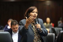 Dinorah Figuera denunció manipulación del chavismo en el man...