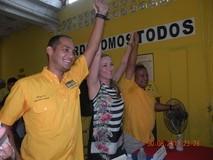 Edinson Ferrer: De la mano de Fabiola Colmenares, Vargas enc...