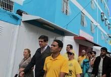 Ocariz rehabilitó bloques de La Bombilla