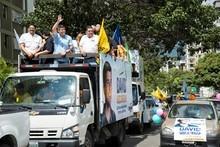 David Uzcátegui realizó Gran Caravana de la Unidad en Baruta...