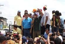 Capriles: Pido al pueblo un voto de confianza para los candi...