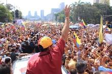 Henrique Capriles: Cada vez somos más y más fuertes