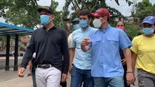 Ocariz, Capriles y Schloeter recorren sectores de pobreza ex...