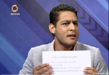José Manuel Olivares: Venezolanos mueren por falta de insumo...