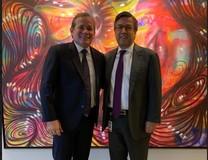 Guanipa se reúne con presidente del BID buscando alianzas pa...