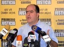 """Julio Borges: """"Varela debería poner su cargo a la orden..."""