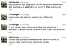 """Julio Borges: """"Maduro dice que somos independientes, pe..."""