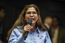 María Gabriela Hernández evidenció la corrupción del régimen...