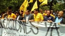 Dirigentes de Primero Justicia llaman a la movilización de e...
