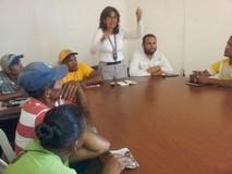 María Gabriela Hernández recorrió tres municipios del sur de...