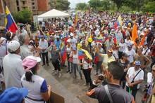 Bloque parlamentario de Guayana tomó el asfalto con la ciuda...