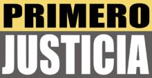 Comunicado de Primero Justicia