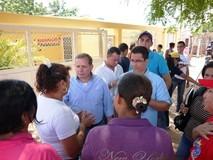 Juan Pablo Guanipa acompaña a candidatos de la unidad en rec...