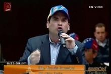 Tomás Guanipa critica que aún se desconozca el proyecto de L...
