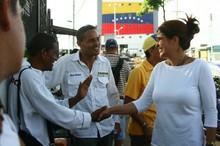 María Gabriela Hernández inscribe su candidatura para las pr...