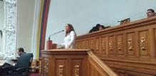 María Gabriela Hernández exhortó a la comunidad internaciona...