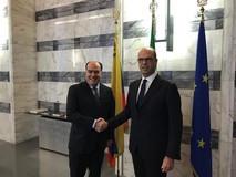Presidente de la AN es recibido por el canciller italiano pa...