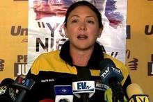 Amelia Belisario denuncia casos de violencia judicial contra...