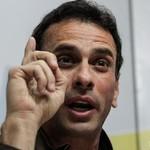 Capriles pide trabajar juntos a quienes buscan un cambio de ...