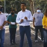 Carlos Ocariz y asociaciones de vecinos crean banco de oxíme...