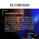 """Julio Borges: """"La Cumbre cómplice"""""""